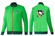 Wholesale Cheap NHL Pittsburgh Penguins Zip Jackets Green-1