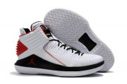 Wholesale Cheap Air Jordan 32 XXXII Shoes White/Black-Red