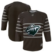 Wholesale Cheap Youth Minnesota Wild Gray 2020 NHL All-Star Game Premier Jersey