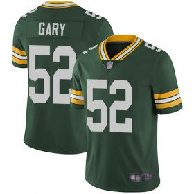 Wholesale Cheap Nike Packers #52 Rashan Gary Green Team Color Men\'s Stitched NFL Vapor Untouchable Limited Jersey