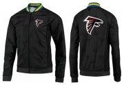 Wholesale Cheap NFL Atlanta Falcons Team Logo Jacket Black_4