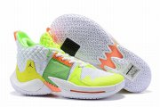 Wholesale Cheap Westbrook 2 Shoes White Green Orange