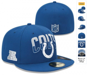 Wholesale Cheap Indianapolis Colts fitted hats 06