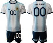Wholesale Cheap Argentina Personalized Home Soccer Country Jersey