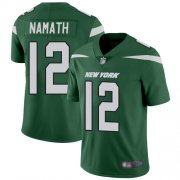 Wholesale Cheap Nike Jets #12 Joe Namath Green Team Color Youth Stitched NFL Vapor Untouchable Limited Jersey