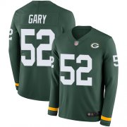 Wholesale Cheap Nike Packers #52 Rashan Gary Green Team Color Men's Stitched NFL Limited Therma Long Sleeve Jersey