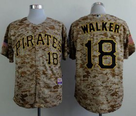 Wholesale Cheap Pirates #18 Neil Walker Camo Alternate Cool Base Stitched MLB Jersey
