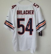 Wholesale Cheap Nike Bears #54 Brian Urlacher White Men's Stitched NFL Elite Autographed Jersey