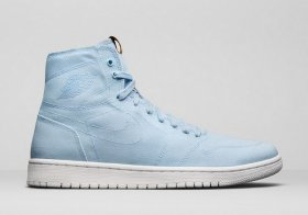 Wholesale Cheap Women\'s Jordan 1 Retro Shoes Blue/White