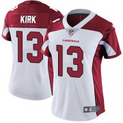 Wholesale Cheap Nike Cardinals #13 Christian Kirk White Women's Stitched NFL Vapor Untouchable Limited Jersey