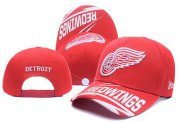 Wholesale Cheap NHL Detroit Red Wings Stitched Snapback Hats 001
