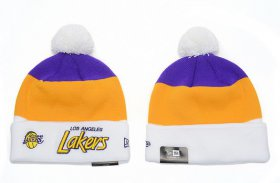 Wholesale Cheap Los Angeles Lakers Beanies YD006