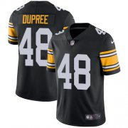 Wholesale Cheap Nike Steelers #48 Bud Dupree Black Alternate Youth Stitched NFL Vapor Untouchable Limited Jersey