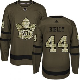 Wholesale Cheap Adidas Maple Leafs #44 Morgan Rielly Green Salute to Service Stitched NHL Jersey