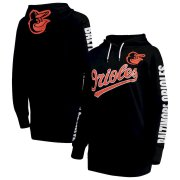 Wholesale Cheap Baltimore Orioles G-III 4Her by Carl Banks Women's Extra Innings Pullover Hoodie Black