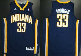 Wholesale Cheap Indiana Pacers #33 Danny Granger Revolution 30 Swingman Navy Blue Jersey