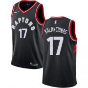 Wholesale Cheap Nike Raptors #17 Jonas Valanciunas Black NBA Swingman Statement Edition Jersey