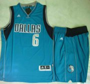 Wholesale Cheap Dallas Mavericks #6 Tyson Chandler Revolution 30 Swingman 2014 New Light Blue Jersey Jersey Short Suits
