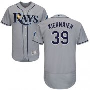 Wholesale Cheap Rays #39 Kevin Kiermaier Grey Flexbase Authentic Collection Stitched MLB Jersey