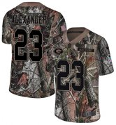 Wholesale Cheap Nike Packers #23 Jaire Alexander Camo Youth Stitched NFL Limited Rush Realtree Jersey