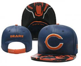 Wholesale Cheap Chicago Bears Snapback Ajustable Cap Hat YD