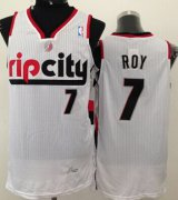 Wholesale Cheap Portland Trail Blazers #7 Brandon Roy Rip City White Swingman Jersey