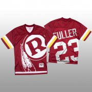 Wholesale Cheap NFL Washington Redskins #23 Kendall Fuller Red Men's Mitchell & Nell Big Face Fashion Limited NFL Jersey