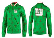 Wholesale Cheap NFL New York Giants Team Logo Jacket Green