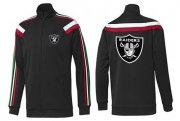 Wholesale Cheap NFL Las Vegas Raiders Team Logo Jacket Black_2