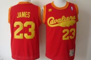 Wholesale Cheap Cleveland Cavaliers #23 LeBron James 2009 Red Swingman Throwback Jersey