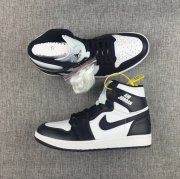 Wholesale Cheap Air Jordan 1 Rare Air Shoes Black White