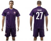 Wholesale Cheap Florence #27 Bakic Home Soccer Club Jersey