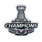 Wholesale Cheap Stitched 2018 NHL Stanley Cup Final Champions Washington Capitals Commemorative Jersey Patch