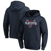 Wholesale Cheap Houston Texans 2019 NFL Playoffs Bound Pullover Hoodie Navy