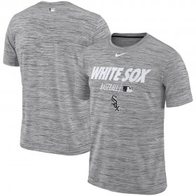 Wholesale Cheap Chicago White Sox Nike Authentic Collection Velocity Team Issue Performance T-Shirt Gray