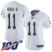 Wholesale Cheap Nike Raiders #11 Henry Ruggs III White Women's Stitched NFL 100th Season Vapor Untouchable Limited Jersey