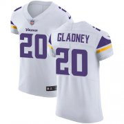 Wholesale Cheap Nike Vikings #20 Jeff Gladney White Men's Stitched NFL New Elite Jersey