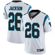 Wholesale Cheap Nike Panthers #26 Donte Jackson White Youth Stitched NFL Vapor Untouchable Limited Jersey