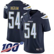 Wholesale Cheap Nike Chargers #54 Melvin Ingram Navy Blue Team Color Men's Stitched NFL 100th Season Vapor Limited Jersey
