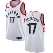 Wholesale Cheap Nike Raptors #17 Jonas Valanciunas White NBA Swingman Association Edition Jersey