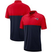 Wholesale Cheap New England Patriots Nike Sideline Early Season Performance Polo Red Navy