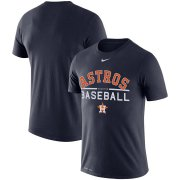 Wholesale Cheap Houston Astros Nike Practice Performance T-Shirt Navy