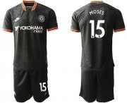 Wholesale Cheap Chelsea #15 Moses Third Soccer Club Jersey