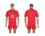 Wholesale Cheap Orlando Pirates Blank Away Soccer Club Jersey