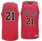 Wholesale Cheap Chicago Bulls #21 Jimmy Butler Red Swingman Jersey