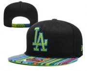 Wholesale Cheap MLB Los Angeles Dogers Snapback Ajustable Cap Hat 14