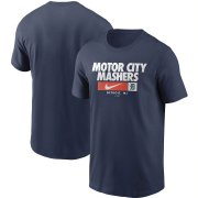Wholesale Cheap Detroit Tigers Nike Local Nickname T-Shirt Navy