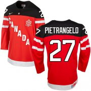 Wholesale Cheap Olympic CA. #27 Alex Pietrangelo Red 100th Anniversary Stitched NHL Jersey