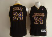 Cheap Los Angeles Lakers #24 Kobe Bryant Black Kids Jersey
