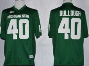 Wholesale Cheap Michigan State Spartans #40 Max Bullough 2013 Green Jersey